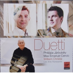 Duetti. Philippe Jaroussky, Max Emanuel Cencic. William Christie. 1 CD. Virgin
