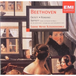 Beethoven: Oktet, Septet. Sabine Meyer blæserensemble. 1 cd. EMI