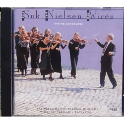 Nielsen, Suk, Wiren. String Serenades. The Young Danish CO. Gunnar Tagmose. 1 cd. Paula