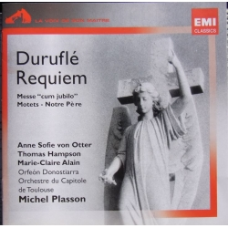 Durufle: Requiem. von Otter, Hampson, Alain, Michel Plasson. 1 cd. EMI