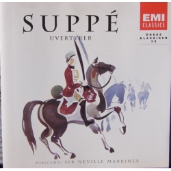 Suppe: Overturer. Neville Marriner, Academy of St. Martin in the Fields. 1 cd. EMI