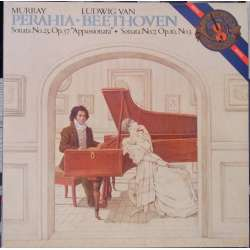 Beethoven: Piano Sonatas nos. 7 & 23. Murray Perahia. 1 LP. CBS 39344. New Copy