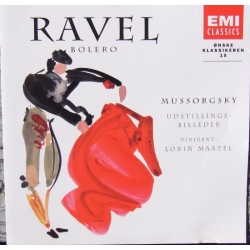 Ravel: Bolero. & Mussorgsky: Pictures at an Exhibition. Lorin Maazel, NPO. 1 CD. EMI