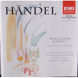 Handel: Halleluja-koret fra Messiahs. Battle, Ramey. 1 cd. EMI