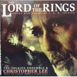 The Lord of the Ring. Songs and poems. Christopher Lee, The Tolkien Ensemble. 1 cd. RCA