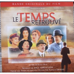 Le Temps Retrouvé. Bande originale du film. Natalie Dessay. 1 CD. Virgin