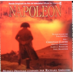 Napoleon. Bande originale du film de television. 1 CD. Virgin