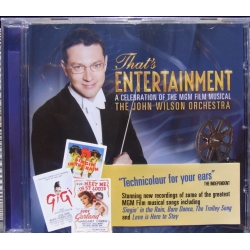 That's Entertainment. A Celebration of the MGM film musical. John Wilson Orchestra. 1 cd. EMI