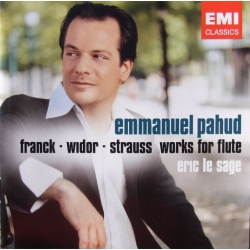Emmanuel Pahud: Franck, Widor, Strauss. Værker for fløjte. 1 cd. EMI