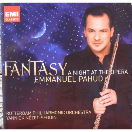 Emmanuel Pahud: Fantasy  A Night at the Opera   (CD) plade-klassikeren dk