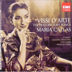 Vissi D'arte. The Puccini Love songs. Maria Callas. 2 cd. EMI