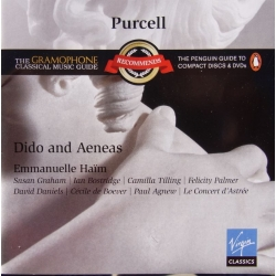 Purcell: Dido and Aeneas. Bostridge, Dessat. Haim. 1 CD. Virgin.
