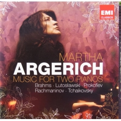 Martha Argerich: Music for two pianos. 2 cd. EMI