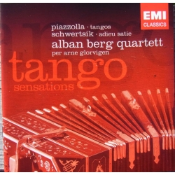 Piazolla. Tango Sensations. Alban Berg Quartet. 1 cd. EMI