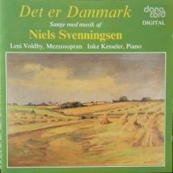 This is Denmark. Danish songs with music by Niels Svenningsen. 1 CD. Danacord
