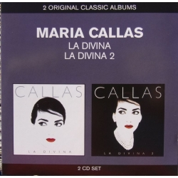 Maria Callas: La Divina Vol. 1 & 2. 2 cd. EMI