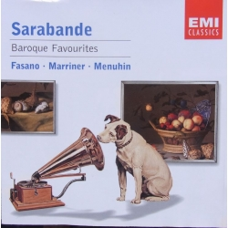 Baroque Favourites. Sarabande. Fasano, Marriner, Menuhin. 1 cd. EMI.