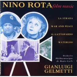 Nino Rota. Filmmusik. La Strada, War and Peace, Waterloo. Gelmetti. 1 cd. EMI