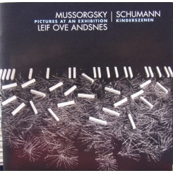 Mussorgsky: Pictures at an Exhibition. & Schumann: Kinderszenen. Leif Ove Andsnes. 1 cd. EMI