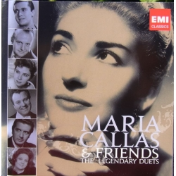 Maria Callas & Friends. The Legendary Duets. 2 cd. EMI