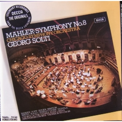 Mahler: Symfoni nr. 8. Georg Solti. Chicago SO. 1 CD. Decca