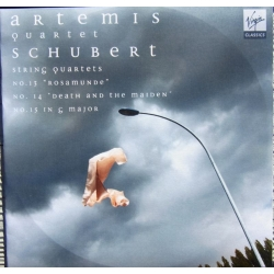 Schubert: Strygekvartet nr. 13, 14, 15. Artemis Quartet. 2 CD. Virgin