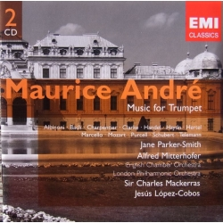 Maurice André: Musik for Trompet. 2 CD. EMI. Gemini