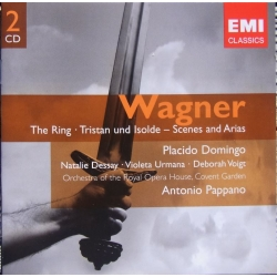 Wagner: Scenes and arias from The Ring, Domingo, Dessay, Voigt. Pappano. 2 cd. EMI. Gemini
