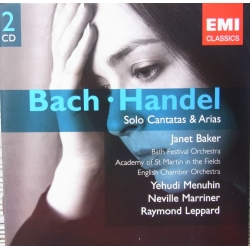Bach: Solo Cantatas & Arias. Janet Baker, Marriner, Academy. 2 cd. EMI. Gemini