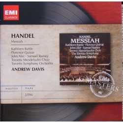 Handel: Messiah. Battle, Ramey, Andrew Davis. 2 cd. EMI Masters