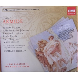 Gluck: Armide. Palmer, Johnson. Richard Hickox. 3 CD. EMI. The home of opera