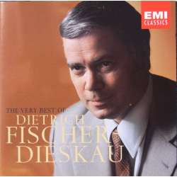 The Very Best of Dietrich Fischer-Dieskau. Franz Schubert lieder. & Richard Strauss: Lieder. 2 CD. EMI.