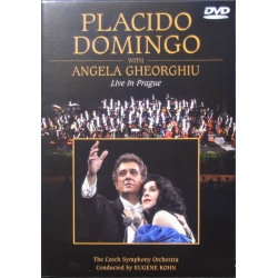 Placido Domingo with Angela Gheorghiu. Live in Prague. 1 DVD