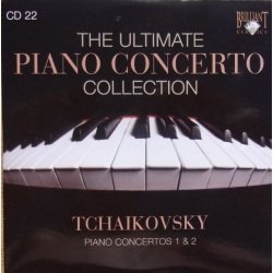Tchaikovsky: Klaverkoncert nr. 1 og 2. Derek Han, St. Petersborg SO. Paul Freeman. 1 CD. Brilliant Classics