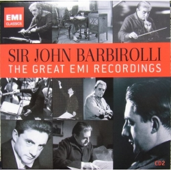 Vaughan-Williams: Symfoni nr. 5. & Delius: In a Summer Garden. John Barbirolli, Halle Orchestra. 1 CD. EMI