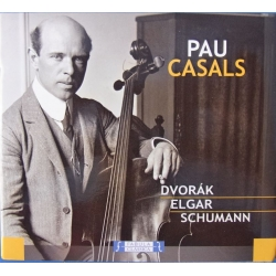Elgar: Cello Concerto + Dvorak: Cello Concerto + Schumann: Cello Concerto. Pablo Casals, Sir Adrian Boult. 1 CD. Lyrica