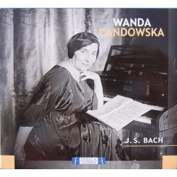 Bach: Goldberg Variations + Italiensk koncert. + Partita nr. 1. Wanda Landowska. 1 cd. Lyrica