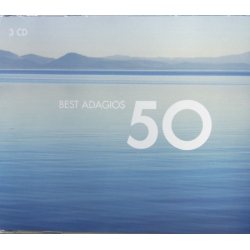 50 Best Adagios. 3 cd. EMI