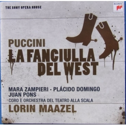 Puccini: La Fanciulla del West. Domingo, Pons. Maazel. 2 CD. Sony