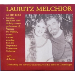 Lauritz Melchior at his Best. 3 cd. CDK 5032