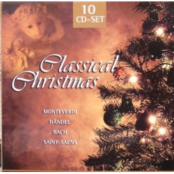 Classical Christmas. Monteverdi, Handel, Bach. Saint-Saens. 10 cd Box set