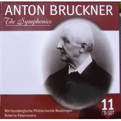 Bruckner: Symfoni nr. 0-9. + Te Deum. 11 cd. Box set
