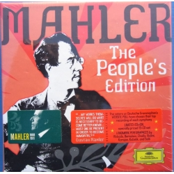 Gustav Mahler: Symfoni nr. 1-10. The People's Edition. 13 CD. DG.