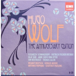 Hugo Wolf: The Anniversary Edition. 8 CD. EMI