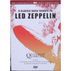 A Classic rock tribute to Led Zeppelin. The Classic Rock String Quartet. 1 DVD. RCL