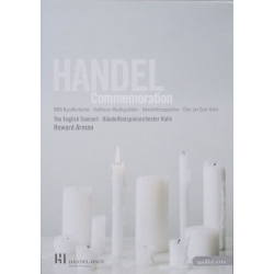 Handel: Commemoration Concert. Howard Arman, English Concert. 1 DVD. Medici Arts