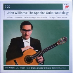 John Williams the Spanish guitar anthology. 7 CD. Sony