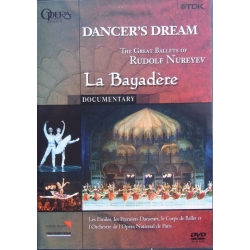 Dancer's Dream. La Bayaderé. Rudolf Nuryev. 1 DVD. TDK