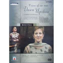 Voices of our Time. Dawn Upshaw. A Contemporary Songs Selection. 1 DVD TDK