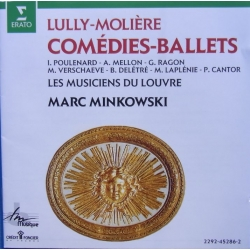 Lully-Moliere: Comedies-Ballets. Marc Minkowski. 1 CD. Erato